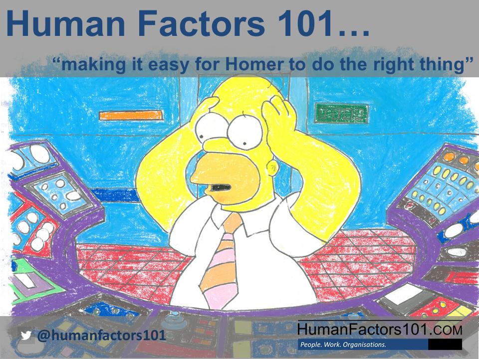 DWM30092 HUMAN FACTORS
